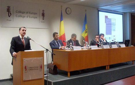 Principele Radu la Colegiul Europei (2)