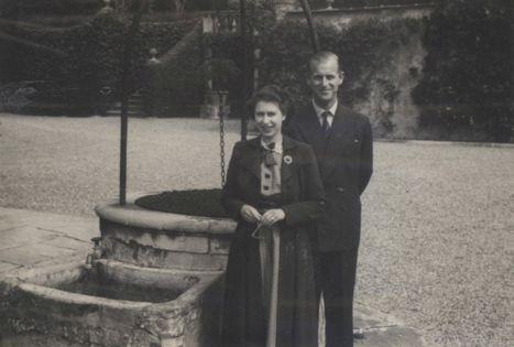 TRH The Princess Elizabeth and Prince Philip