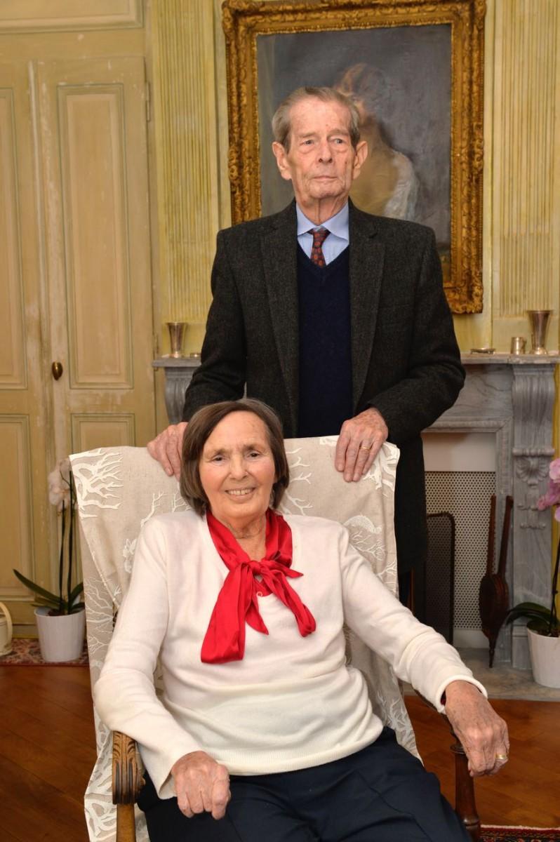 King michael i and queen anne of romania private for La regina anne casa