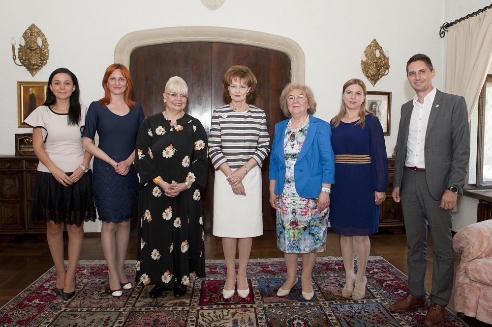 Susţinătorii Fundaţiei Principesa Margareta a României la Palatul Elisabeta