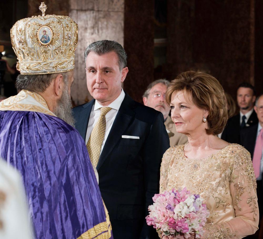 Principesa Mostenitoare Margareta si Principele Radu, slujba de binecuvantare la Catedrala Incoronarii la 20 de ani de la casatorie, Alba Iulia, 24 septembrie 2016, ©Daniel Angelescu
