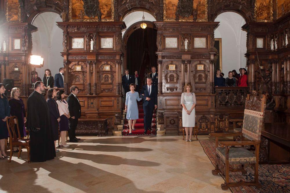 Decorari regale la Castelul Peles, 24 octombrie 2016, Alteta Sa Regala Principesa Mostenitoare Margareta, foto Daniel Angelescu