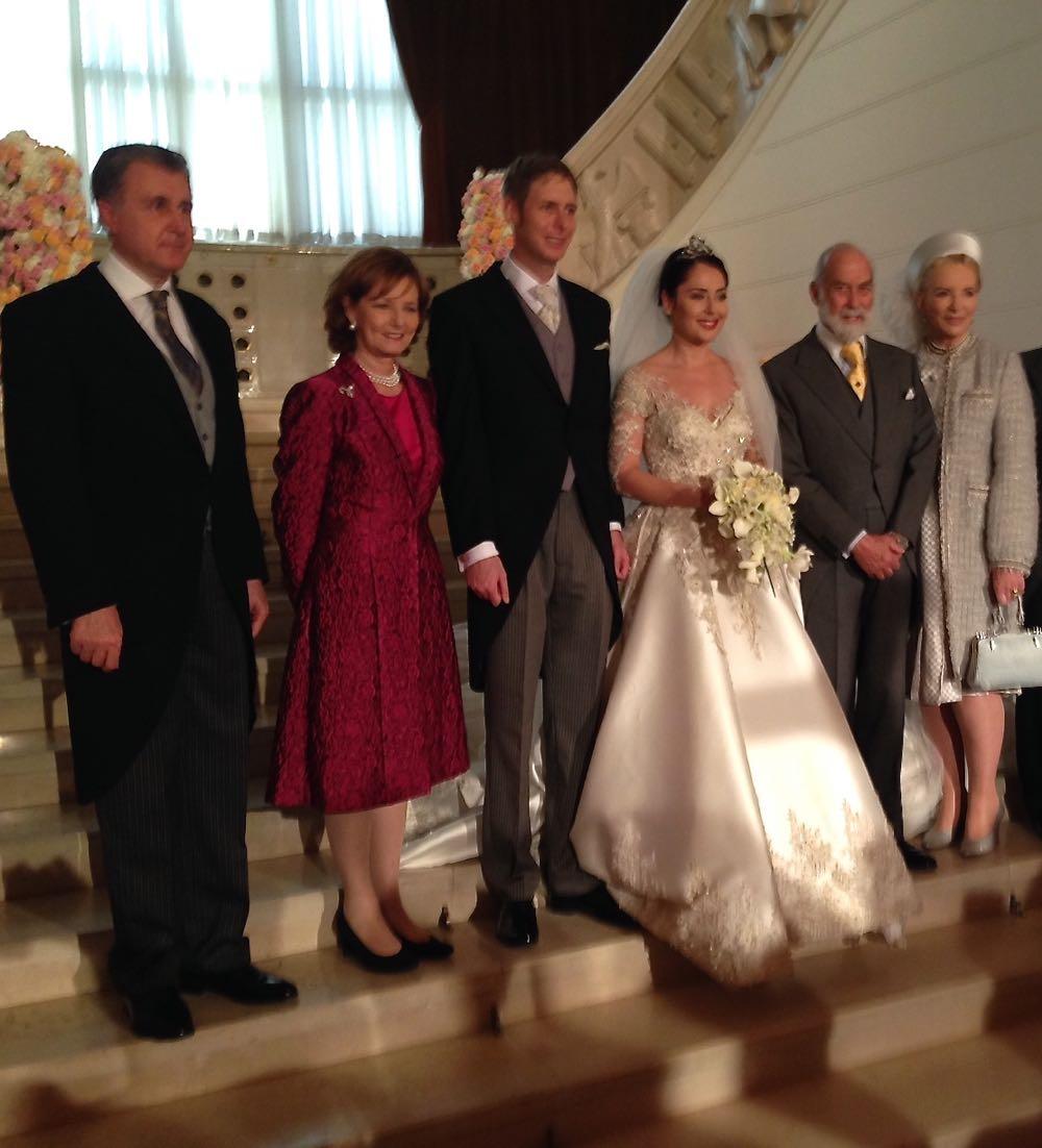 Principesa Mostenitoare Margareta, Principele Radu, Principele Mostenitor Leka II, Principesa Mostenitoare Elia, Principele si Principesa Michael de Kent, Tirana, 8 octombrie 2016