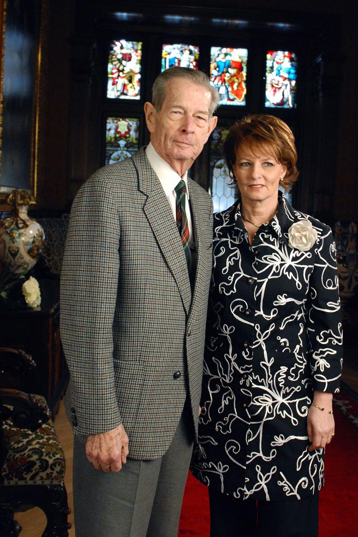 Regele Mihai I si Principesa Mostenitoare Margareta, Castelul Peles