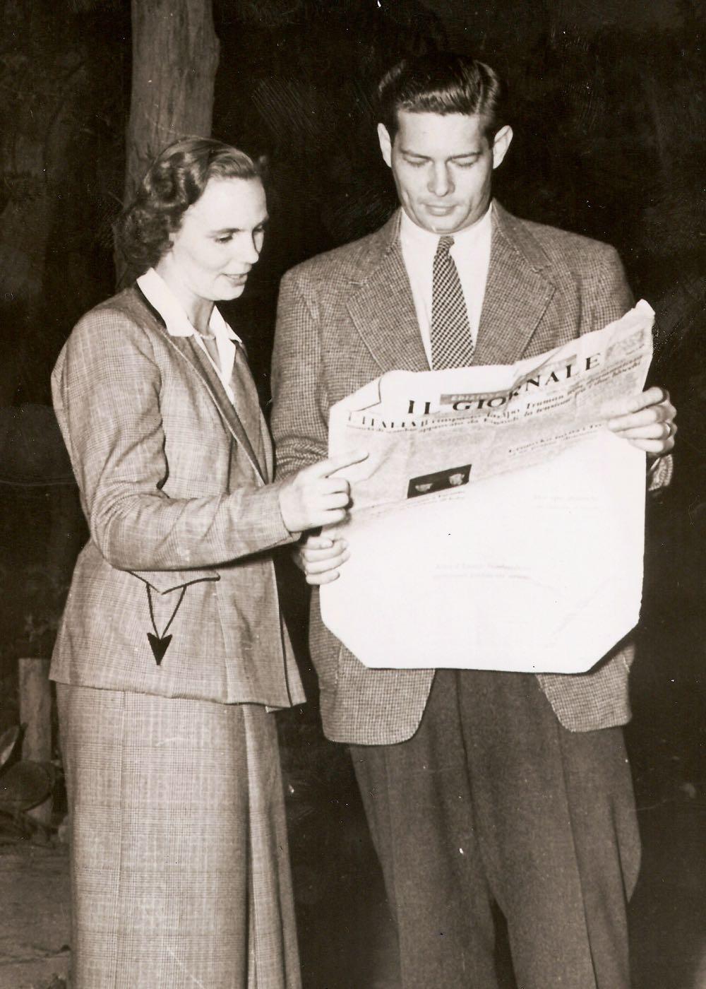 Regele Mihai si Regina Ana in exil, anii 1950 ©Casa Majestatii Sale Regelui