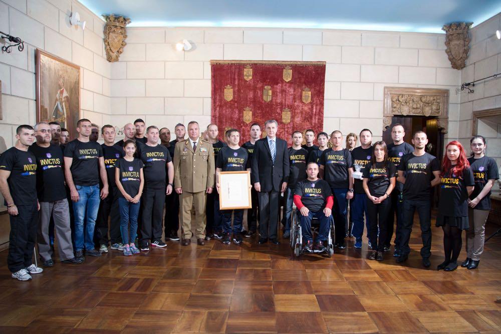 Invictus Romania, patronaj regal, Palatul Elisabeta, 5 octombrie 2016