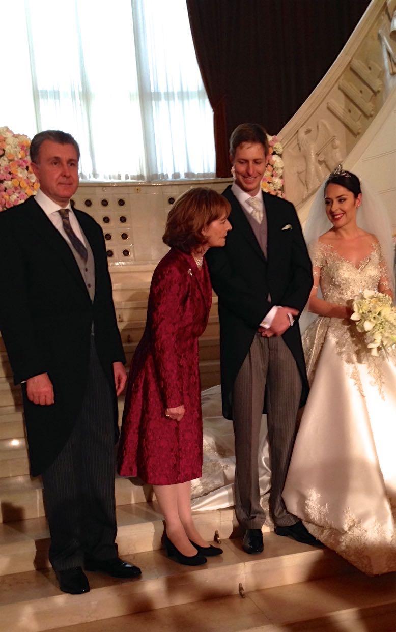 Principesa Mostenitoare Margareta si Principele Radu, Tirana, 8 octombrie 2016