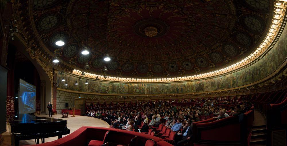 Principesa Mostenitoare Margareta la Ateneul Roman, Conferinta de Craciun 28 noiembrie 2016, foto Daniel Angelescu