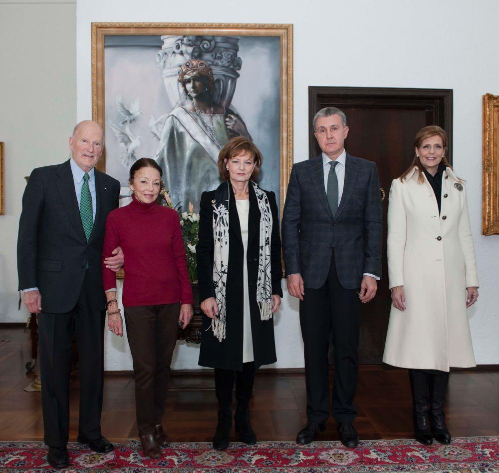 Regele Simeon II si Regina Margarita ai bulgarilor Palatul Elisabeta Bucuresti 30 noiembrie 2016 ©Daniel Angelescu