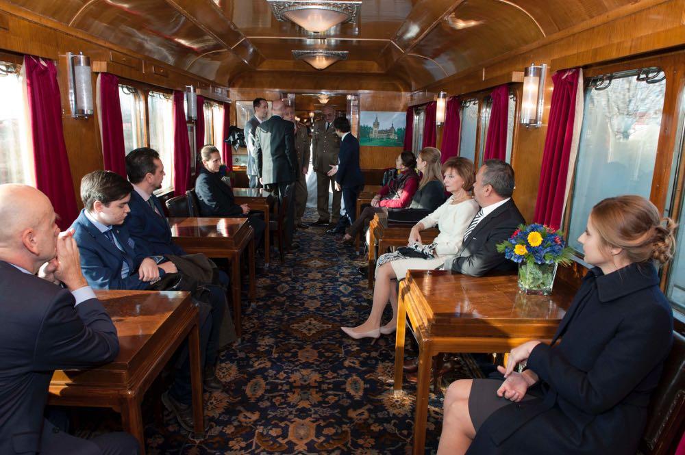 Trenul Regal de 1 Decembrie, Bucuresti Sinaia, 30 noiembrie 2016 ©Daniel Angelescu