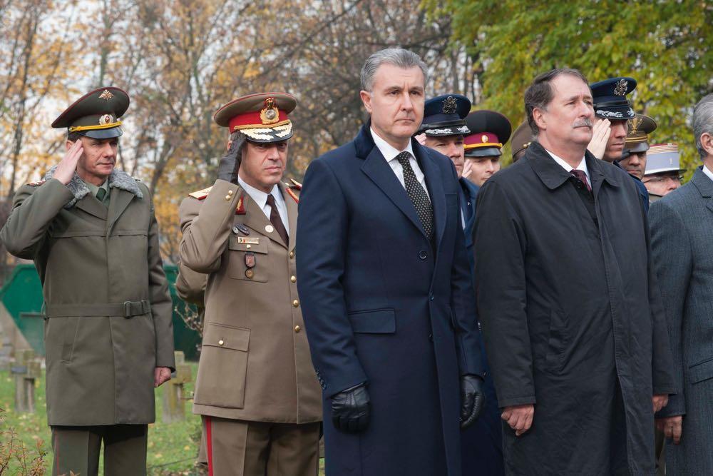 Principele Radu a luat parte la comemorarea victimelor razboaielor, Cimitirul Pro Patria, 11 noiembrie 2016, foto Daniel Angelescu