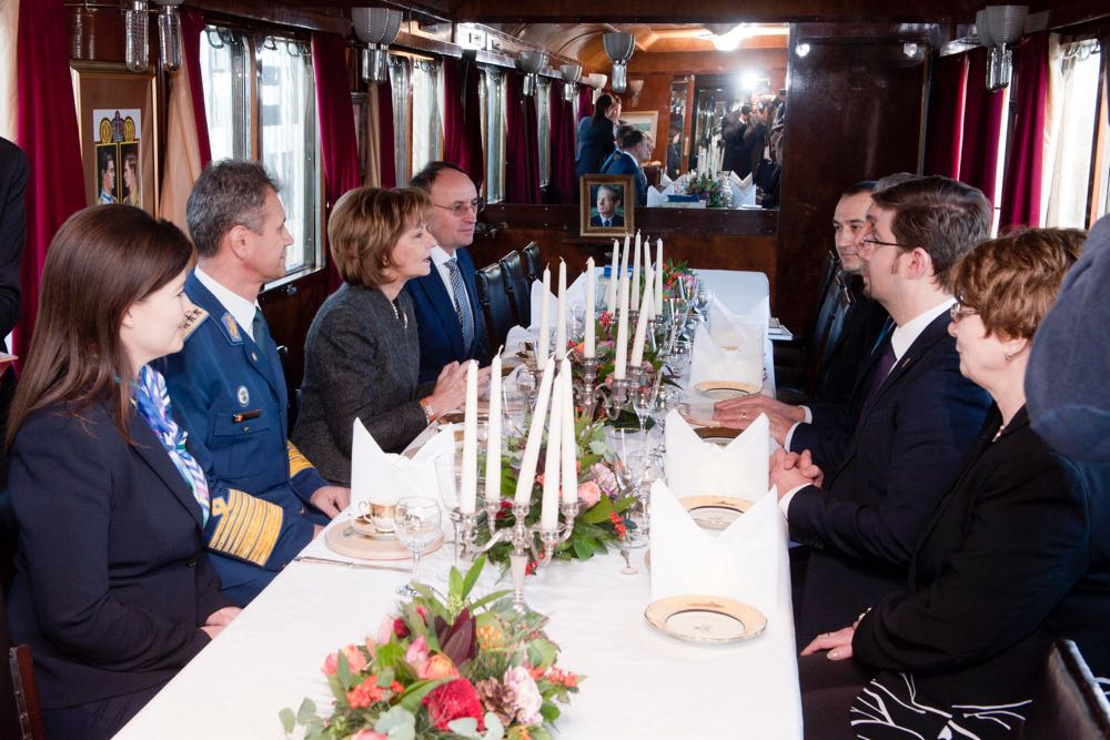 Trenul Regal la Bacau, Roman, Pascani si Iasi, 16 decembrie 2016 ©Daniel Angelescu