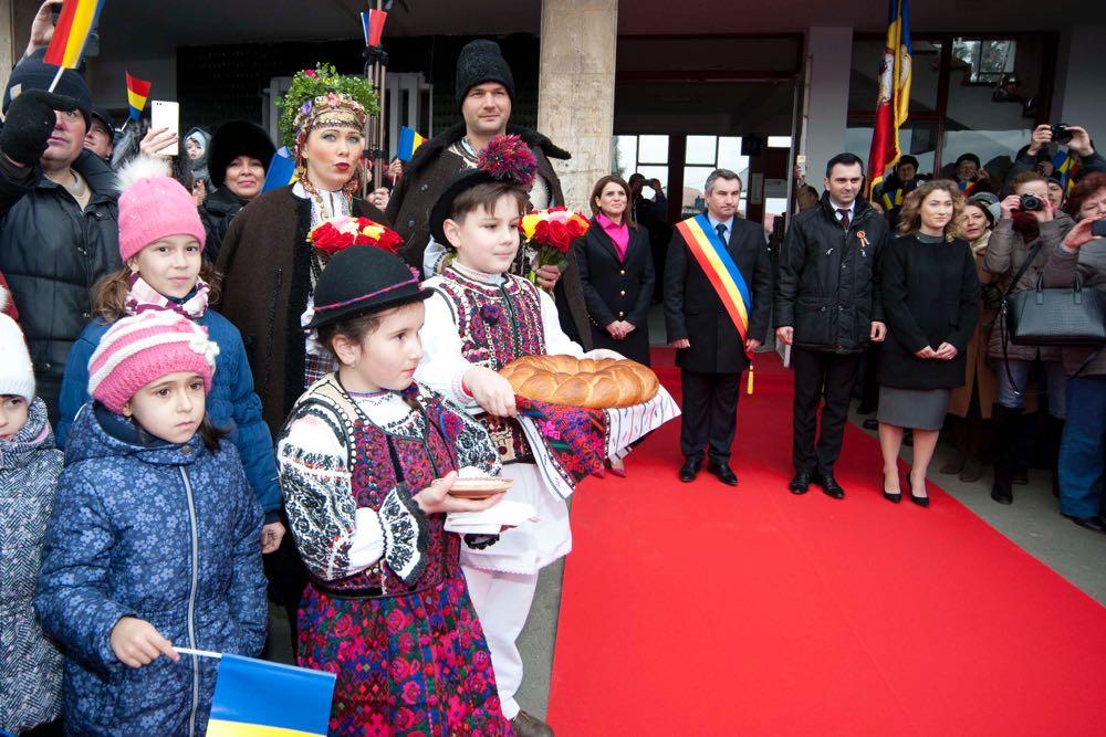 Primirea Familiei Regale în Gara Fagaras, 1 decembrie 2016 ©Daniel Angelescu