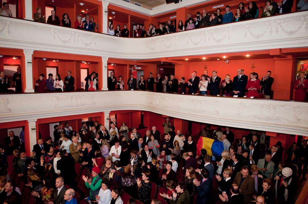 Concertul de gală oferit de Filarmonica din Sibiu în seara de 1 decembrie 2016 ©Daniel Angelescu