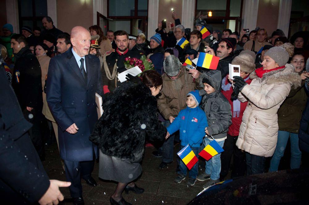 Primirea Familiei Regale în Gara Sibiu, 1 decembrie 2016 ©Daniel Angelescu