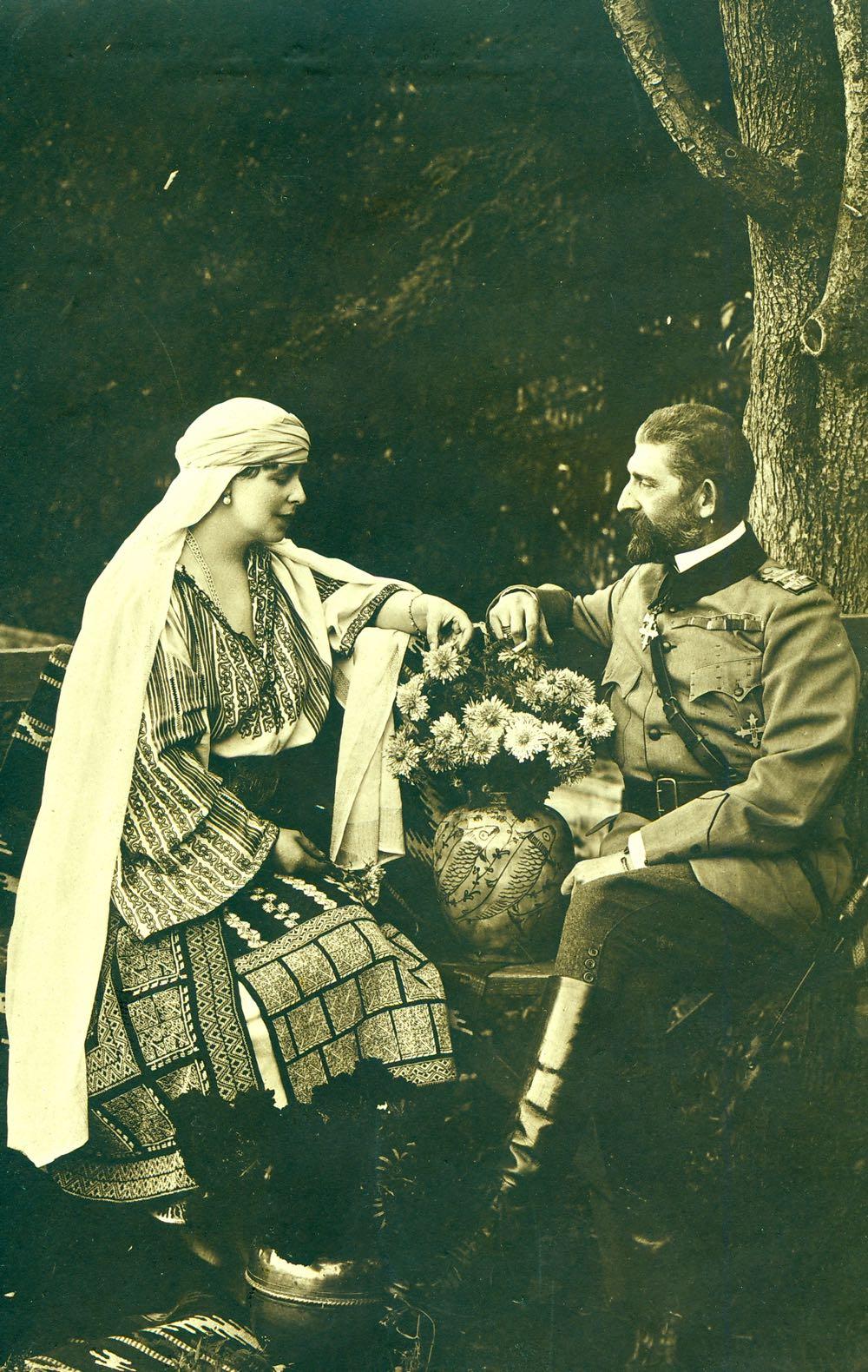 Regele Ferdinand si Regina Maria ©Academia Romana