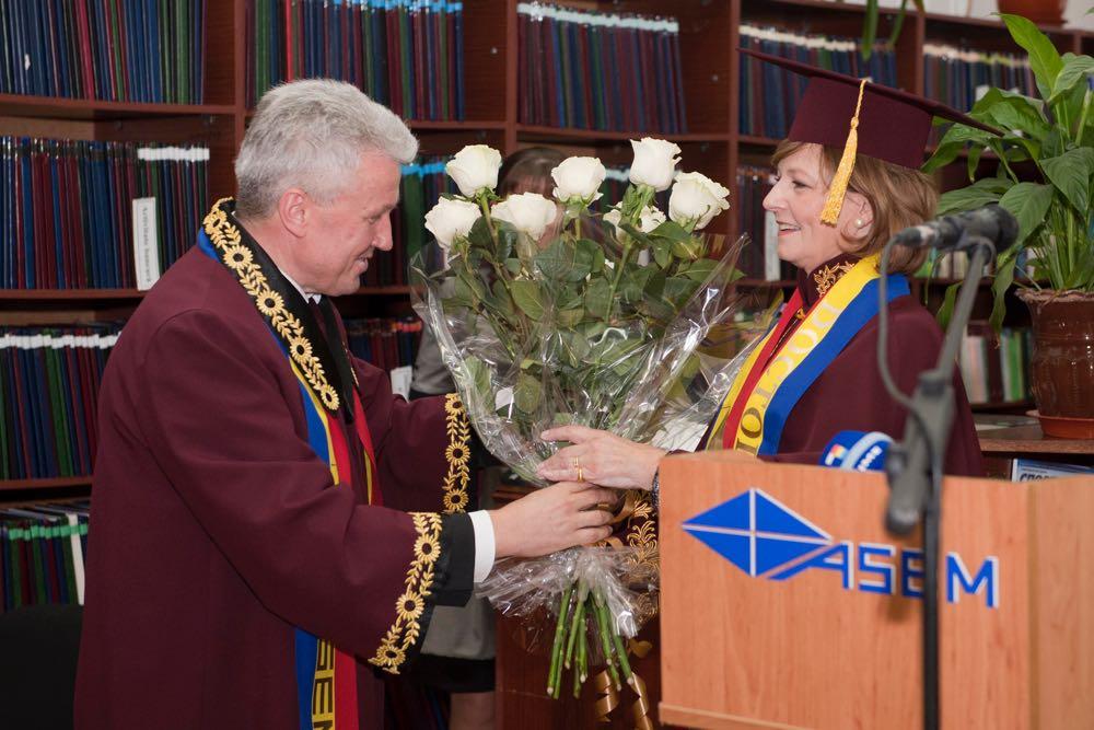 Principesa Mostenitoare Margareta, Doctor Honoris Causa al Academiei de Studii Economice a Moldovei, decembrie 2016