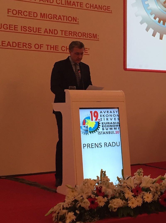 Principele Radu la Summit-ul Marmara aprilie 2016