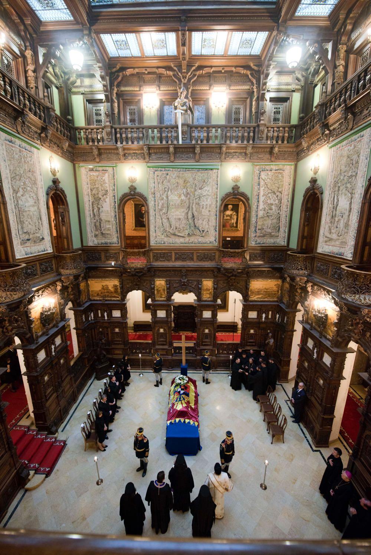 Ceremonie funerara la Castelul Regal Peles, 9 si 10 august 2016
