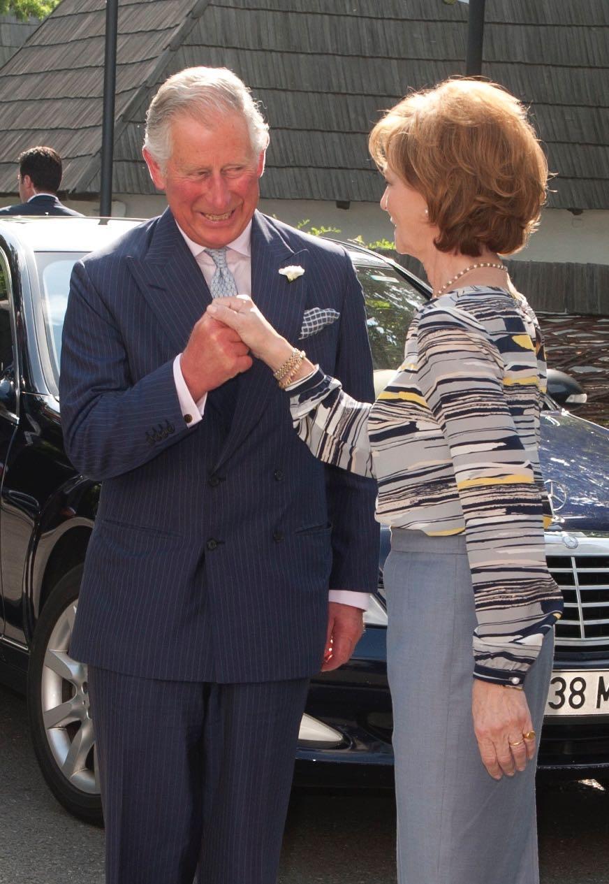 Principele de Wales la Palatul Elisabeta, mai 2016