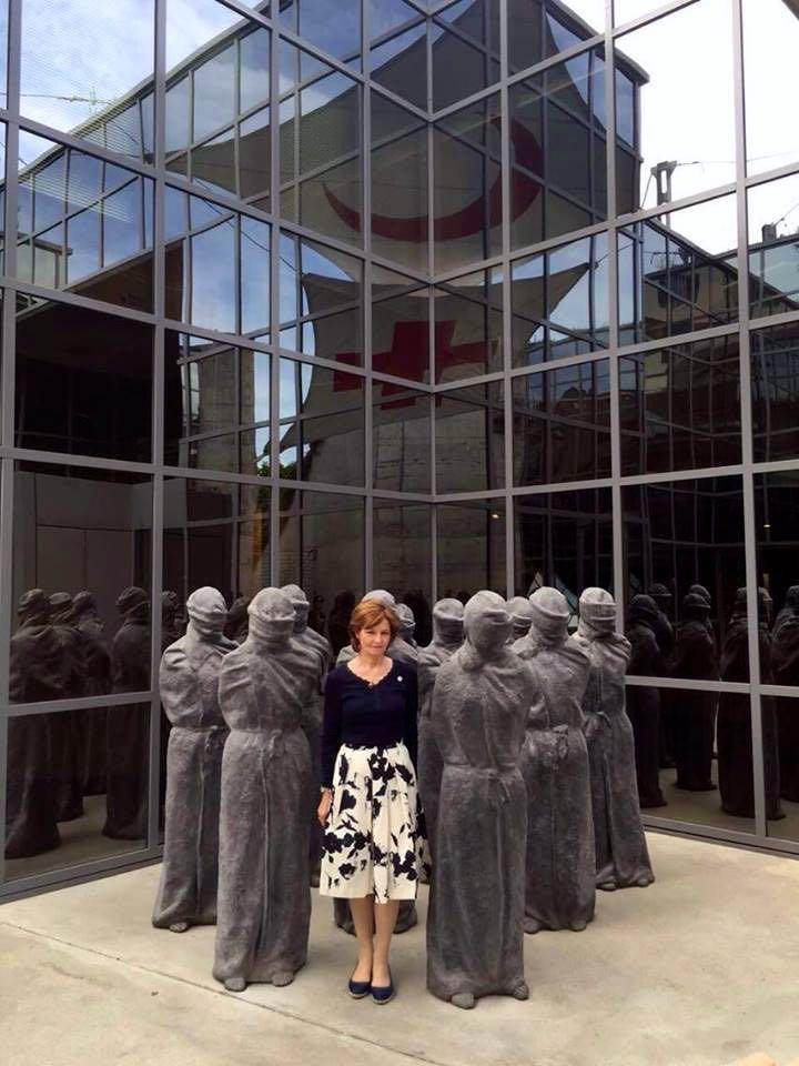 Principesa Mostenitoare Margareta, vizita la Crucea Rosie Geneva