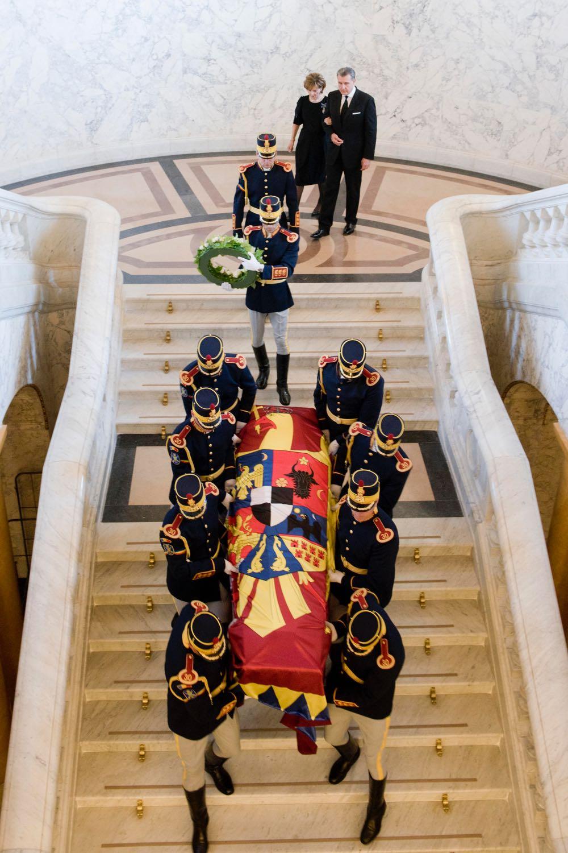 Funeraliile Reginei Ana Palatul Regal 13 august 2016