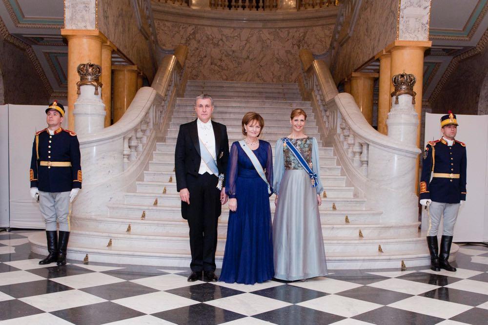 Familia Regala, Palatul Regal, Seara Corpului Diplomatic, 14 decembrie 2016