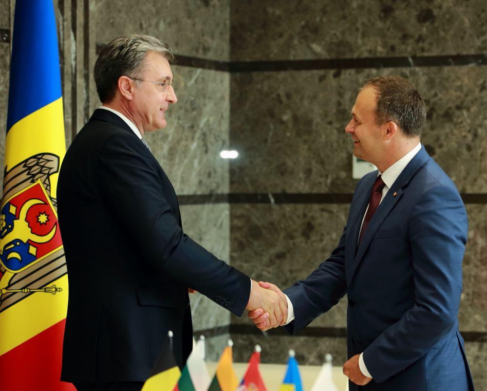 Principele Radu la Parlamentul Republicii Moldova, sesiune solemna, 9 septembrie 2016