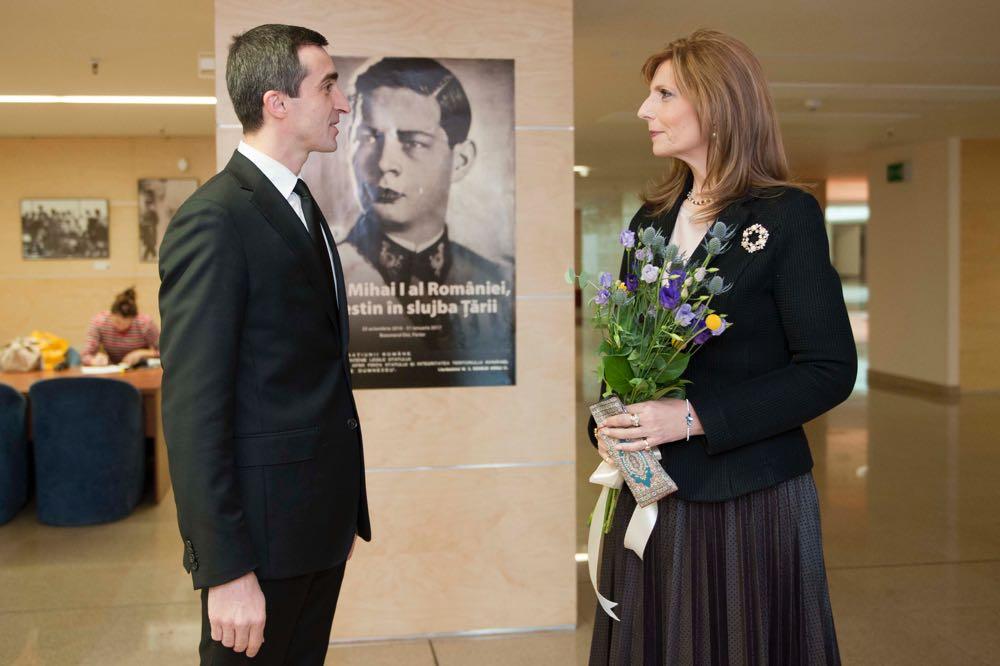 Expozitia Regele Mihai, un destin in slujba Tarii la Biblioteca Nationala