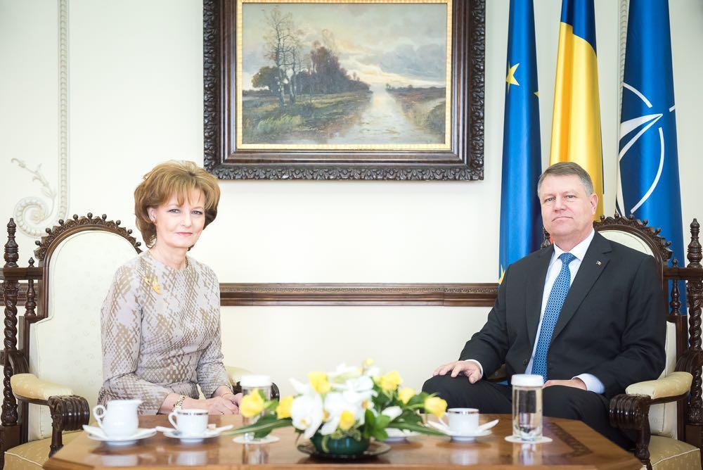 Custodele Coroanei si Presedintele Romaniei, Palatul Cotroceni, martie 2016