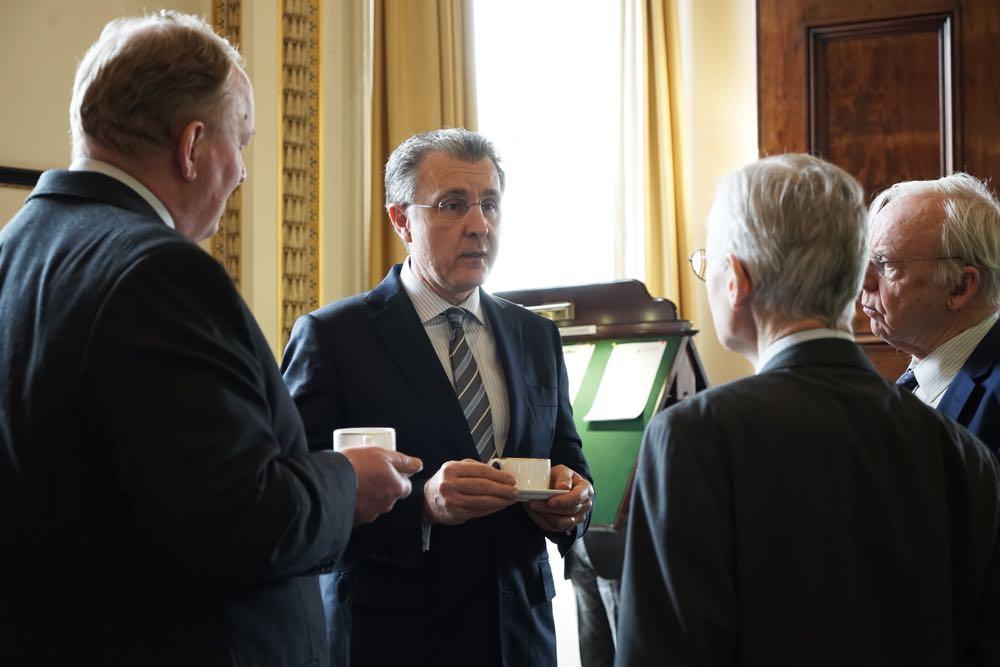 Vizita Principelui Radu la Colegiul Regal de Aparare, Londra, 7 februarie 2017