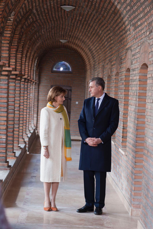 Principesa Mostenitoare Margareta si Principele Radu, Manastirea Plumbuita, 16 martie 2017 ©Daniel Angelescu