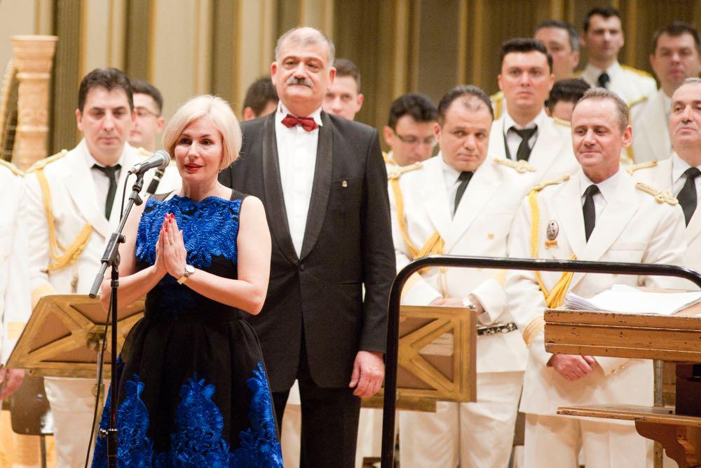 Principele Radu la Gala Muzicilor Militare la Ateneul Român, 22 martie 2017 ©Daniel Angelescu