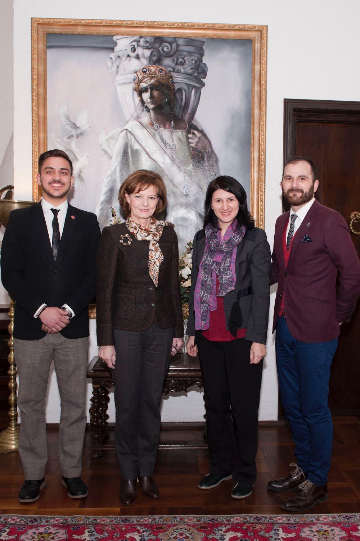 Principesa Mostenitoare, Palatul Elisabeta, Duke of Edinburgh Award Romania, 14 martie 2017