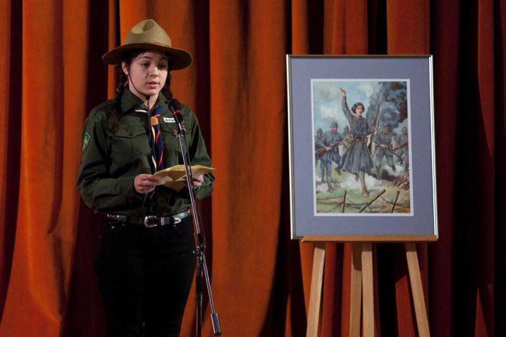 Principele Radu, comemorarea la MApN a eroinei sublocotenent Ecaterina Teodoroiu, 17 martie 2017 ©Daniel Angelescu