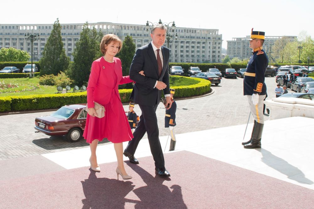 Principesa Mostenitoare Margareta, Parlamentul Romaniei, sesiune solemna 26 aprilie 2017, foto Daniel Angelescu ©Casa Majestatii Sale