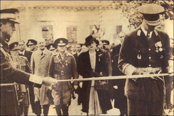 Regele-Mihai-si-Regina-Elena-Chisinau-31octombrie1942