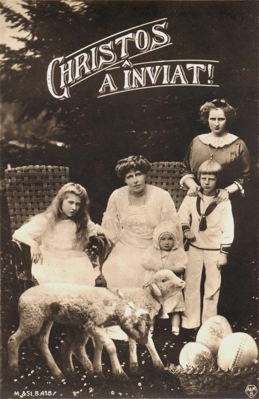 Familia Regala de Pasti 1914