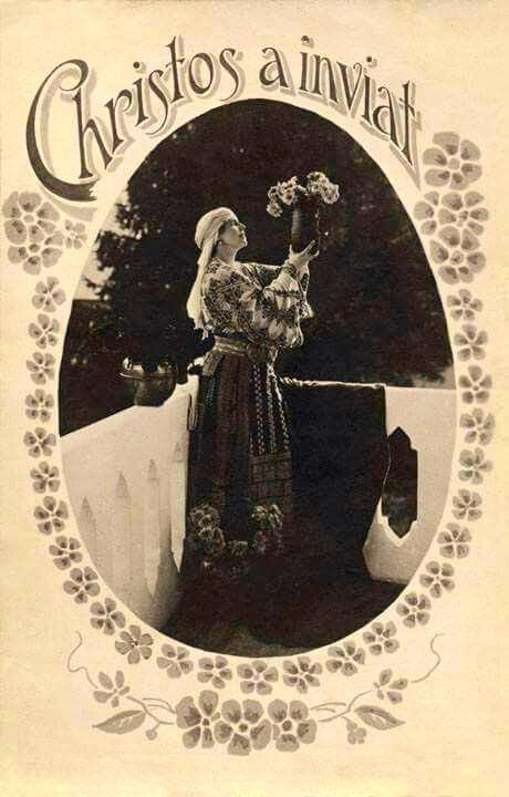 Regina Maria a Romaniei ilustrata de Pasti