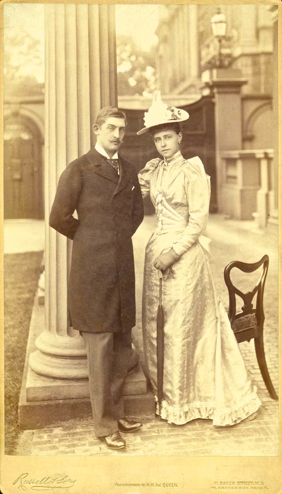 Principele Ferdinand si Principesa Maria 1892