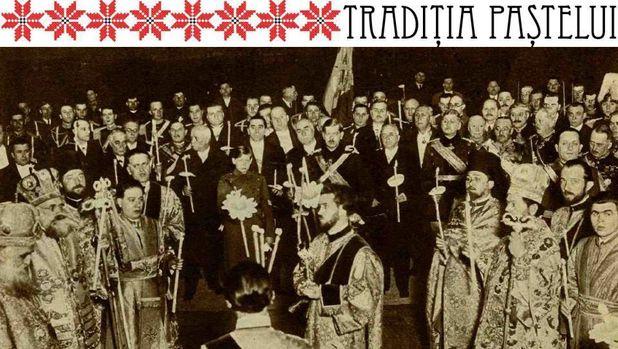 familia-regala-slujba-invierii-1934-biserica-domnita-balasa
