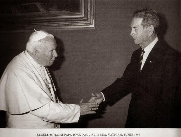 regele-mihai-papa-ioan-paul-ii-1999
