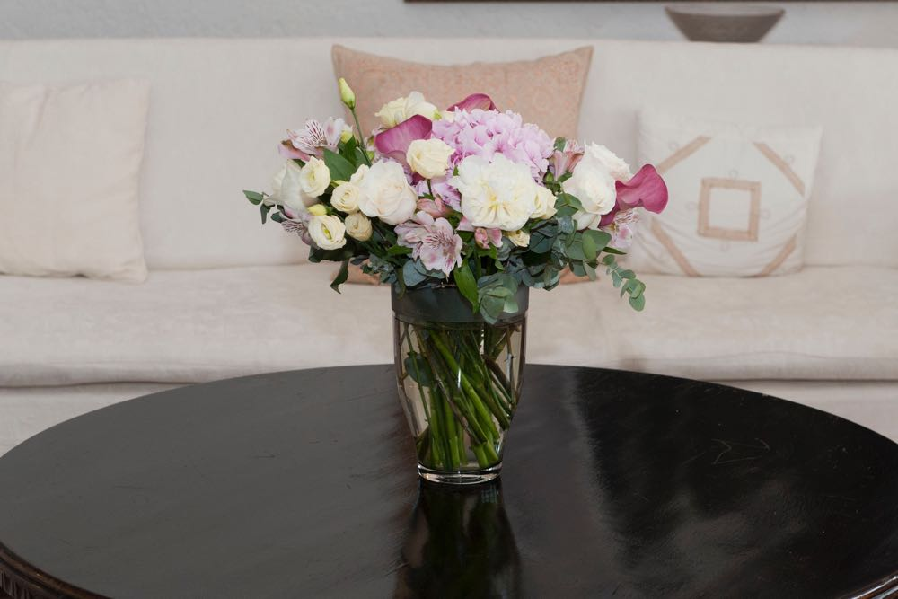 Flori la Palatul Elisabeta
