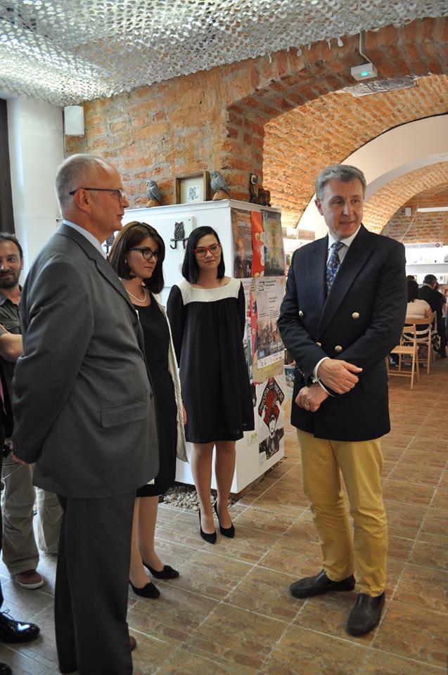 Lansarea volumului Povestile Castelului Peles, libraria La Doua Bufnite, Timisoara, 12 iunie 2017, Principele Radu