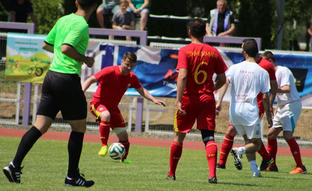 Meciul amical de fotbal Romania Regala vs Serbia Regala, 5-2, stadionul Stiinta Timisoara, Principele Radu, 11 iunie 2017 ©Lucian Radulescu