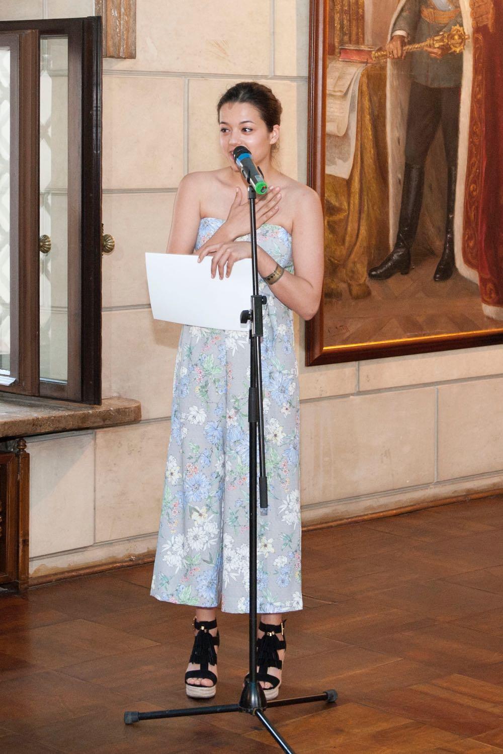 Principesa Mostenitoare Margareta la seara Palatului Elisabeta dedicata Festivalului International Grand Prix Nova 2iunie2017 ©Daniel Angelescu