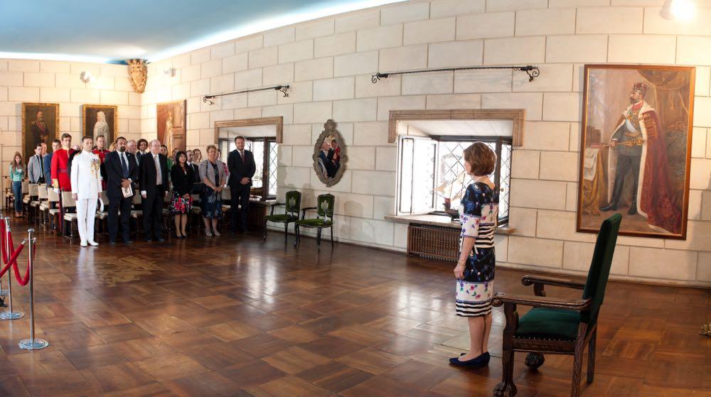 Principesa Mostenitoare Margareta, patron regal al Duke of Edinburgh International Award Romania, premieri la Palatul Elisabeta, 20 iunie 2017 ©Daniel Angelescu