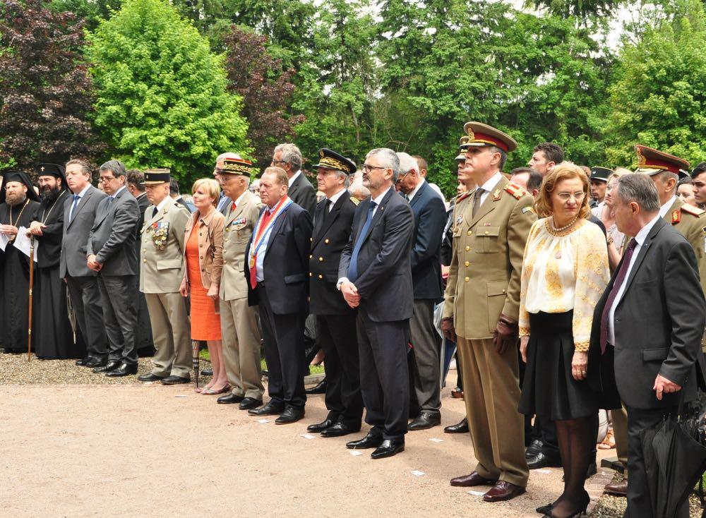 Ceremonia de omagiere a soldatilor romani ingropati la Soultzmatt in Primul Razboi Mondial, Principele Radu, 3 iunie 2017