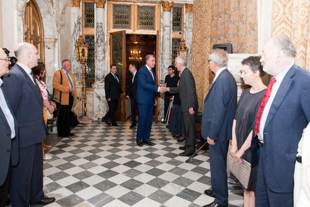 Principele Radu a deschis Primul Colocviu Regal, Sinaia, 23 iunie 2017 ©Daniel Angelescu
