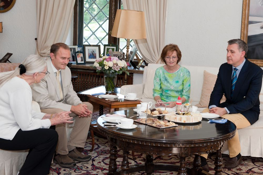 Principesa Mostenitoare Margareta, Principele Radu, Vanessa Redgrave, Carlo Nero, Palatul Elisabeta, 29 iunie 2017 ©Daniel Angelescu